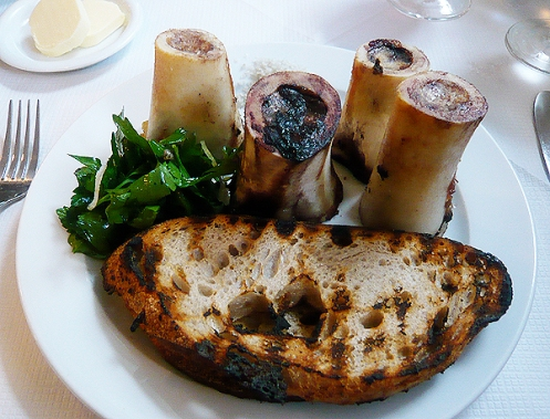 roast bone marrow